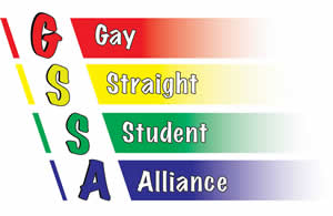 Logo: Gay/Straight Student Alliance