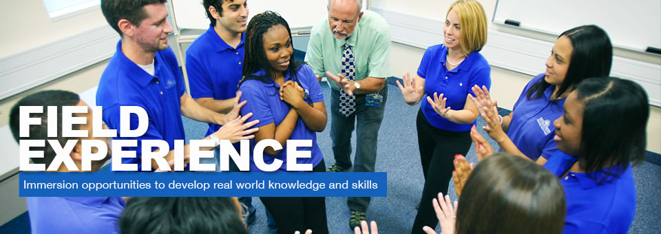 Immersion opportunities to develop real world knowledge and skills