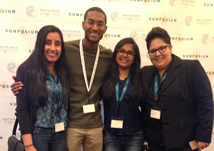 Students Selected as Scientific Fellows Attend Sunposium 2015 Conference
